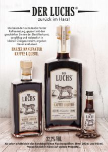 DER LUCHS - HARZER MANUFAKTUR KAFFEE LIQUEUR