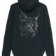 DER LUCHS Black Edition - Hoodies mit Reißverschluss